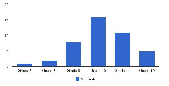 Stonington Institute School Students by Grade