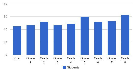 St Clare School Students by Grade