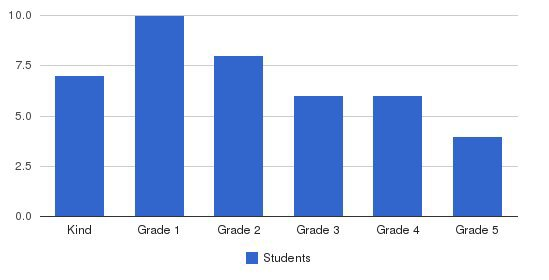 The Wise Academy Students by Grade
