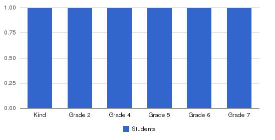 Faith Academy Students by Grade