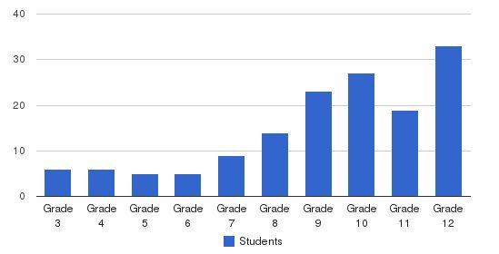 Almansor Academy Students by Grade