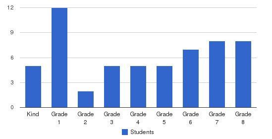 Vine Preparatory Academy Students by Grade