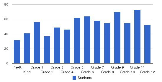 Bayside Academy Students by Grade