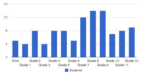 Millennium Academy Students by Grade