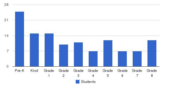 Silicon Valley Academy Students by Grade
