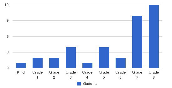 Alternative Academic Achievement Academy Students by Grade