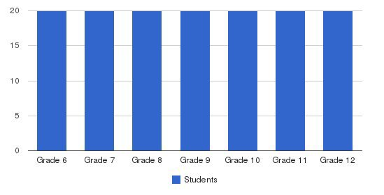 Cambrian Academy Students by Grade
