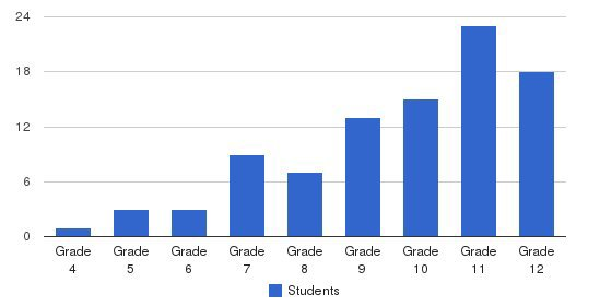 Willow Bend Academy Students by Grade