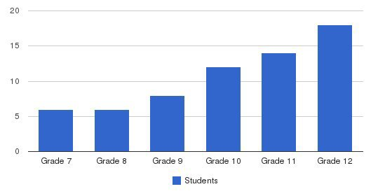 The Howard Gardner School Students by Grade