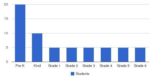 The Montessori School Rochester Students by Grade