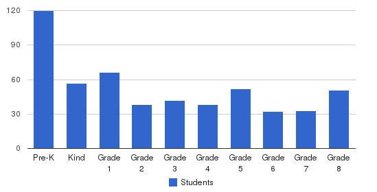 South Hills Academy Students by Grade