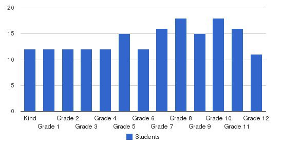 Spirit Academy Students by Grade