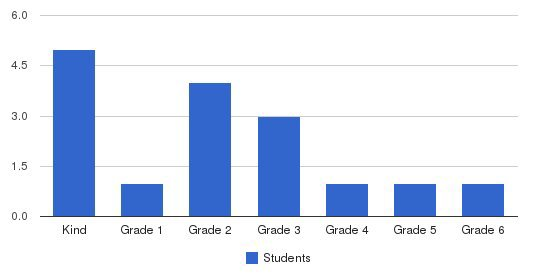 Christian Bible Academy Students by Grade