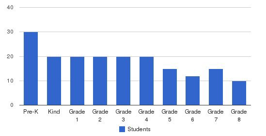 Washington International Academy Students by Grade