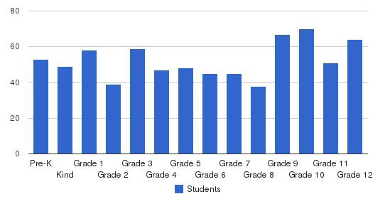 St. Mary Springs Academy Students by Grade