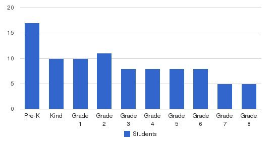 Ace Academy Students by Grade