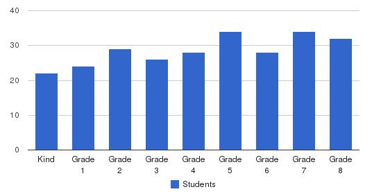 St Elizabeth Parish School Students by Grade