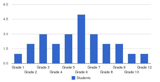 Grad Academy Students by Grade