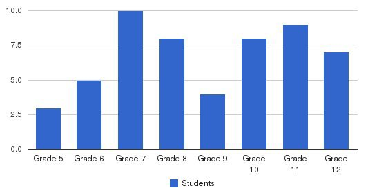 Lighthouse School Students by Grade