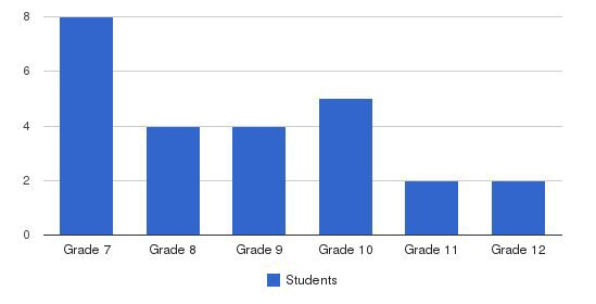 Access Academy Students by Grade