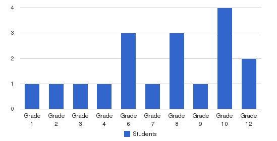 Brethren Frontier Students by Grade