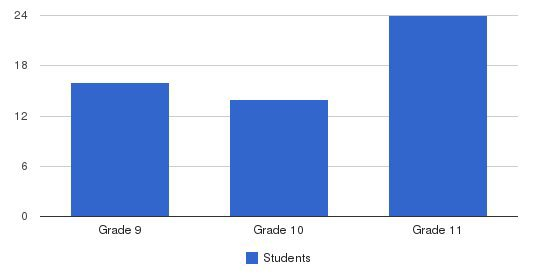Yeshiva High School Students by Grade