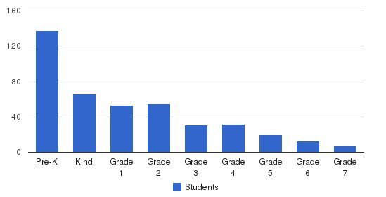 The Magellan International School Students by Grade