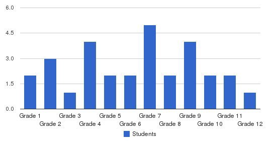 Branch Of Hope Students by Grade