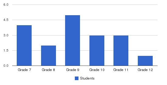 School Of Virtue & Academic Excellence Students by Grade