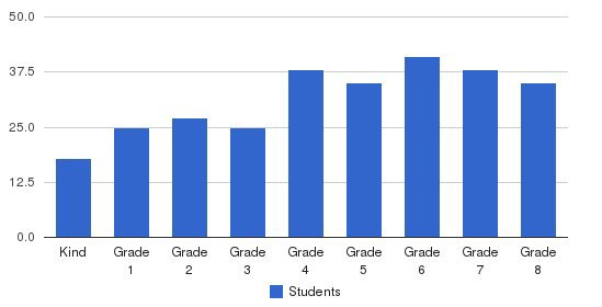 St Pius X School Students by Grade