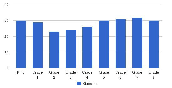 Visitation School Students by Grade