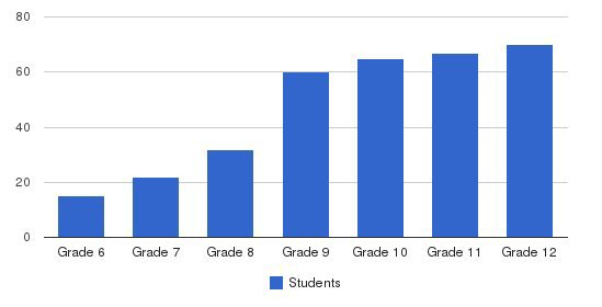 The Field School Students by Grade
