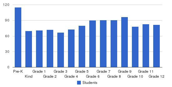 Atlanta International School Students by Grade