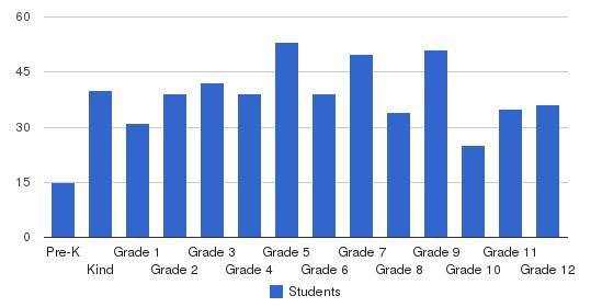 Lakeview Academy Students by Grade