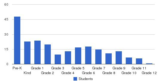 Snellville Christian Academy Students by Grade