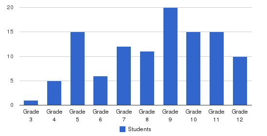 St. Paul Academy Students by Grade