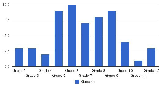 Woodfield Academy Students by Grade