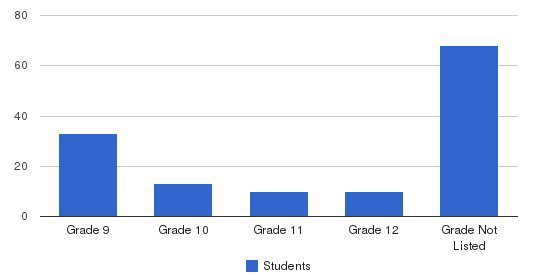 Latino Youth High School Students by Grade