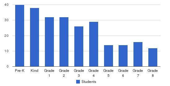 Everest Academy Students by Grade