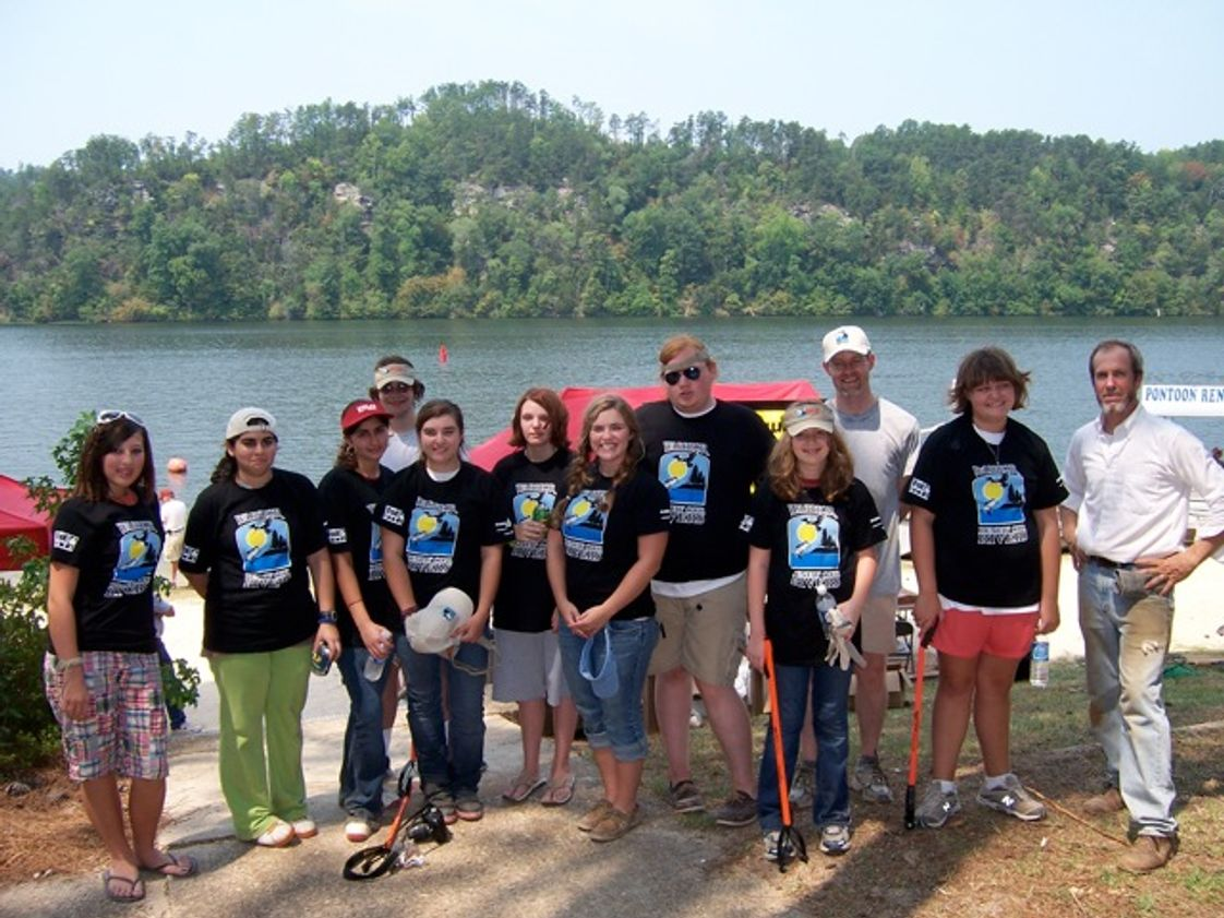 "The Capitol School Photo - High School Students volunteering in ""Renew Our Rivers"" cleanup."