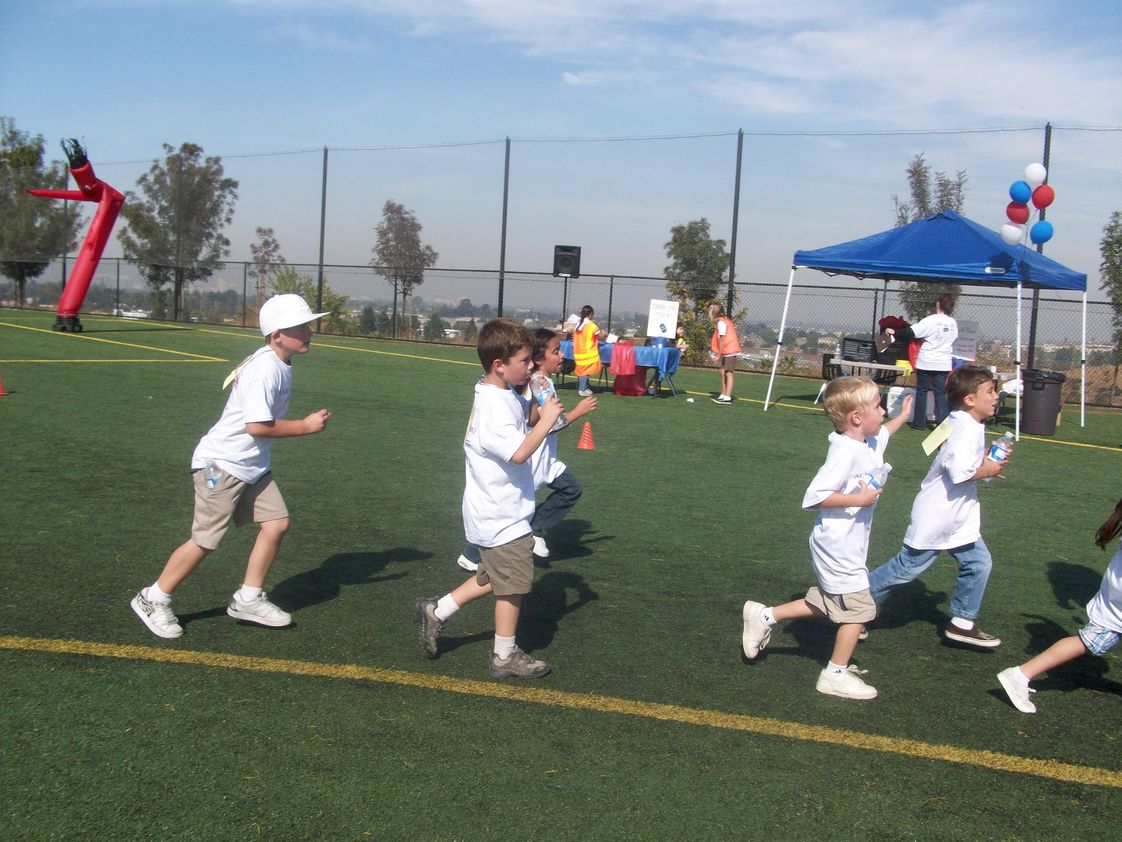 Achiever Christian School Photo #1 - Our annual jog-a-thon event is fun and helps us raise money for extra programs.