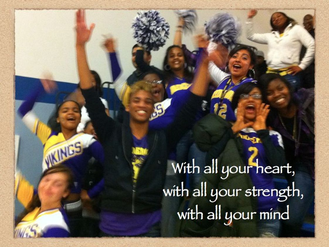 "Bridgemont High School Photo #1 - We are committed to the development of the whole person. In addition to the standard college prep classes, Bridgemont students also take Bible, PE, Speech and Debate, and other electives. Students participate in extracurricular activities, school-wide events, and community service. Our school motto is ""heart, mind, strength."""