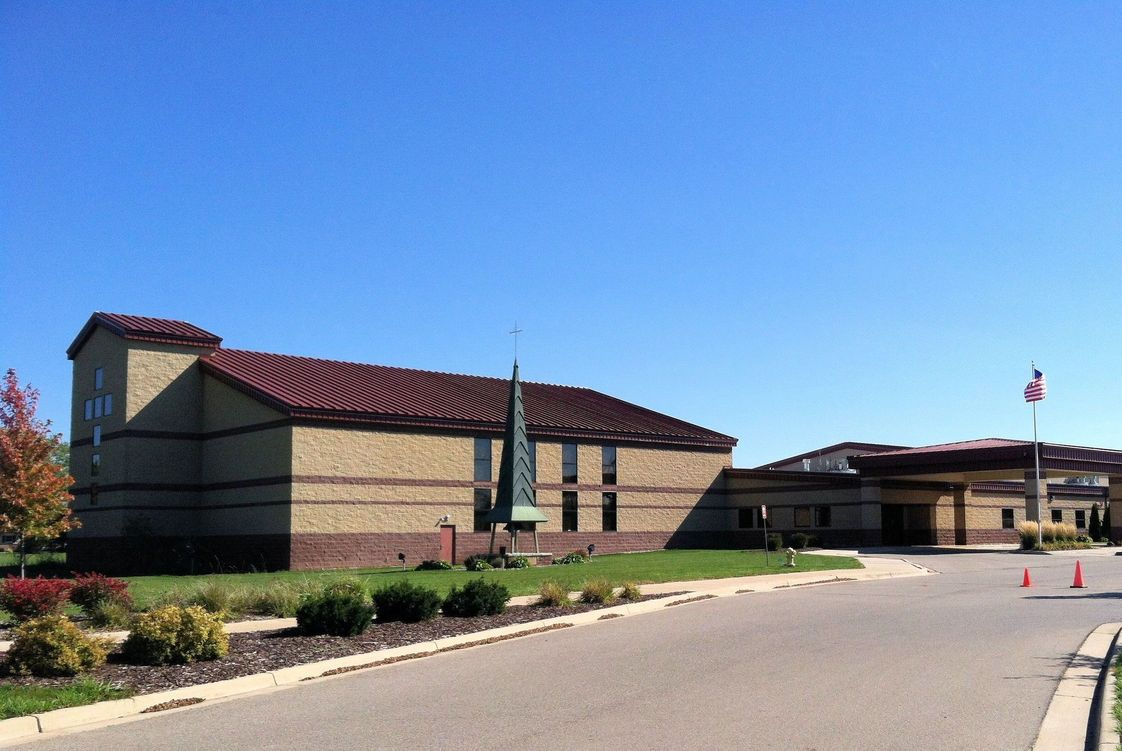 Our Savior Lutheran School Photo - Located at Broadbent Rd. and E. St. Joe Hwy. in Delta Township, built in 2008. Our school offers classrooms for grades Preschool through 8th grade, a computer lab/library, cafeteria, music room, gymnasium and church sanctuary. Athletic fields for soccer, softball, baseball and a playground are part of the campus.