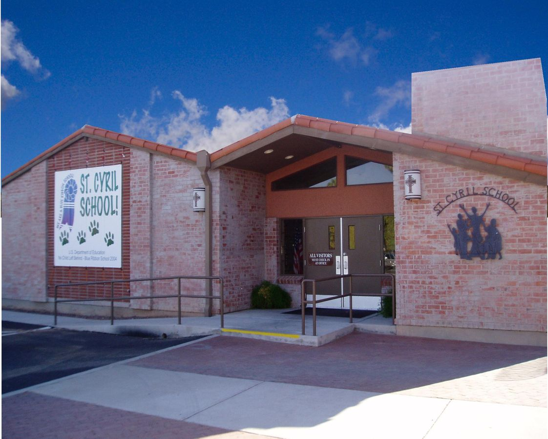 St Cyril Elementary School Photo #1 - Welcome to all! We are located on the northeast corner of Pima and Swan. Enter from Swan just north of the Church.