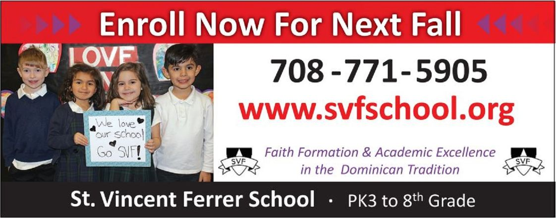 St Vincent Ferrer Elementary School Photo #1 - SVF wants you to join us!
