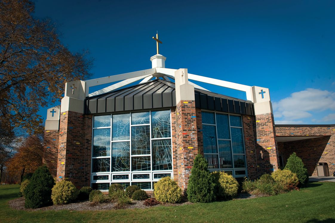 Concordia Lutheran High School Photo #1 - The Worship Conference Center is a beautiful piece of architecture on our campus.