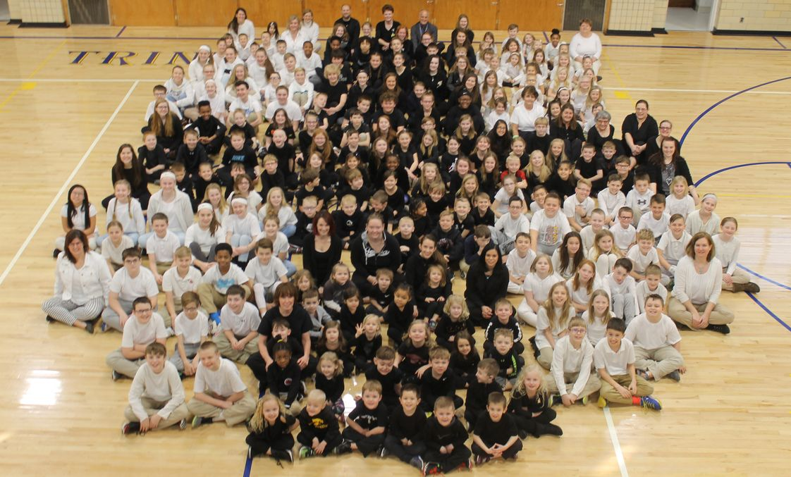 Trinity Lutheran School Photo - Trinity students and staff
