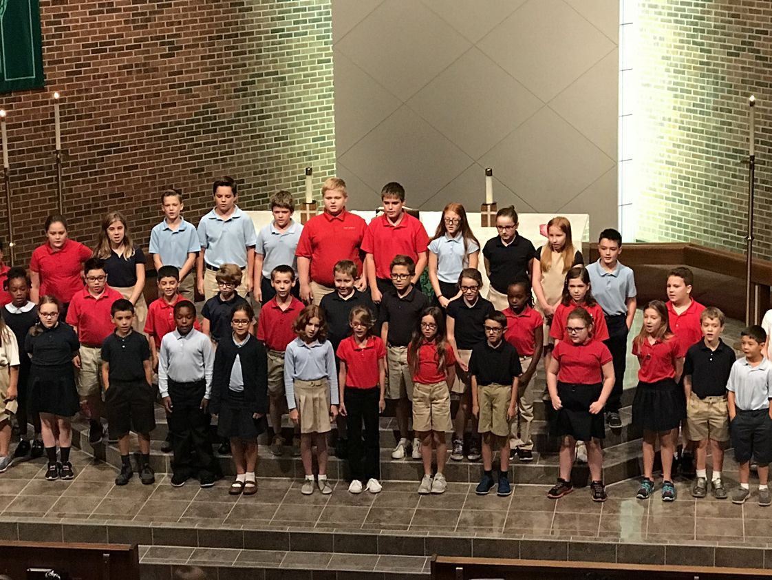 Hope Lutheran School Photo - 5th-8th grade choir