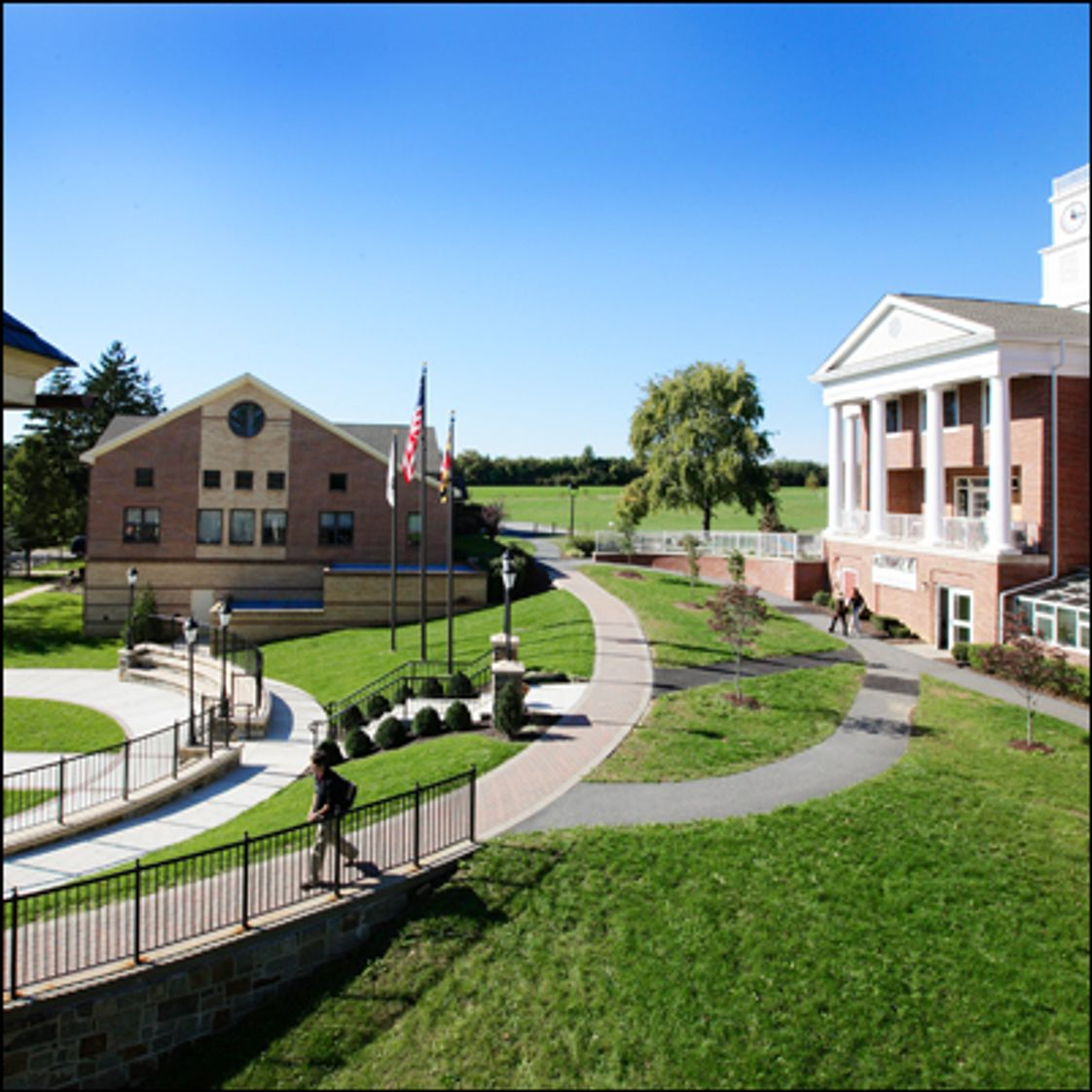 West Nottingham Academy Photo - Our 120-acre campus is just an hour's drive from Baltimore or Philadelphia and 25 minutes from the Univ. of Delaware's campus - all perfect for weekend activities and cultural events.