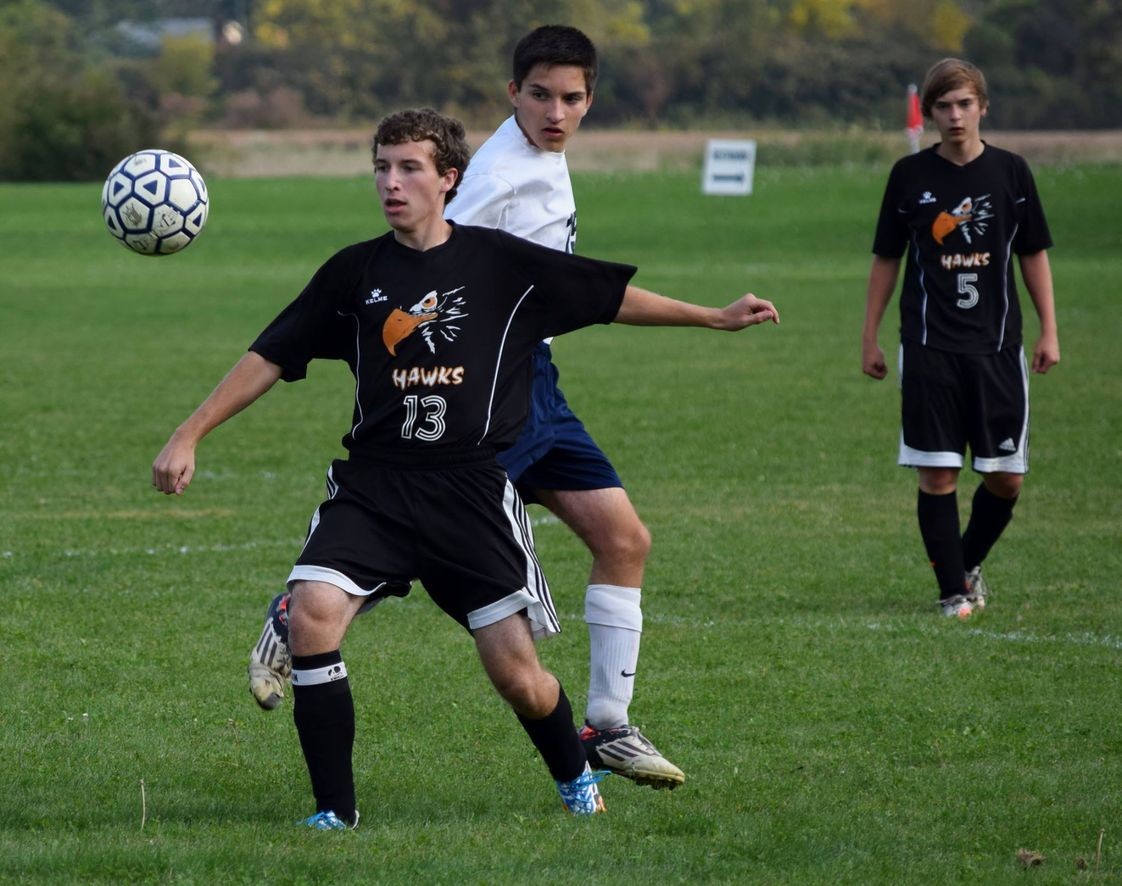Huron Valley Lutheran High School Photo - Soccer!